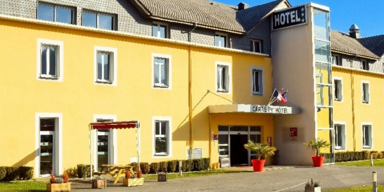 Hôtel le Carré Py Bagnères de Bigorre